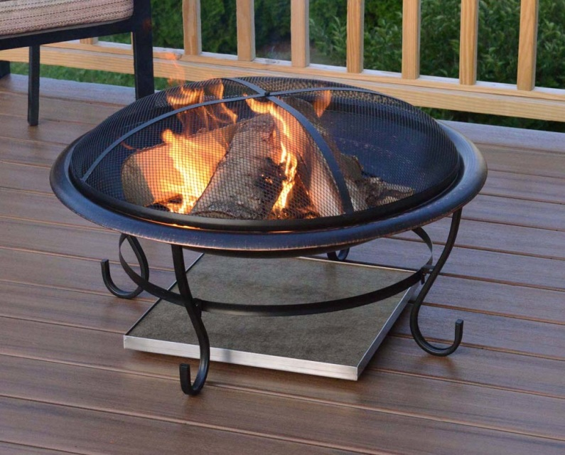 Deckprotect 30 X30 Fire Pit And Chiminea Insulation